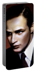 Marlon Brando Tribute Portable Battery Charger