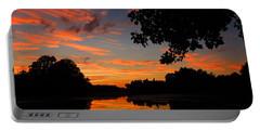 Marlu Lake At Sunset Portable Battery Charger