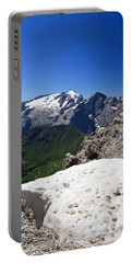 Portable Battery Charger featuring the photograph Marmolada From Saas Pordoi by Antonio Scarpi