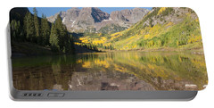 Maroon Bells In Autumn Portable Battery Charger