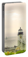 Marshall Point Lighthouse In Maine Portable Battery Charger