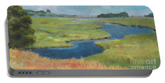 Marshes At High Tide Portable Battery Charger