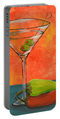 Martini And Pepper Portable Battery Charger