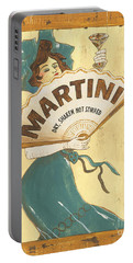 Martini Dry Portable Battery Charger by Debbie DeWitt