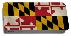 Maryland State Flag Portable Battery Charger