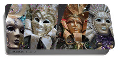Masquerade Craziness Portable Battery Charger