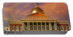 Massachusetts State House Portable Battery Charger