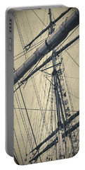 Mast And Rigging Postcard Portable Battery Charger