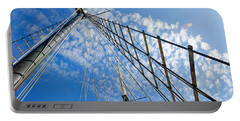 Portable Battery Charger featuring the photograph Masted Sky by Keith Armstrong