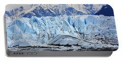 Matanuska Glacier Portable Battery Charger by Andrew Matwijec