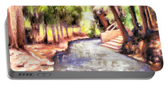 Mataranka Hot Springs Portable Battery Charger