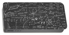 Maths Blackboard Portable Battery Charger