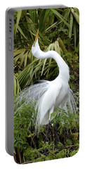 Portable Battery Charger featuring the photograph The Devine Ms E by Carol  Bradley
