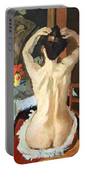 Matisse's La Coiffure Portable Battery Charger by Cora Wandel