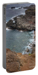 Portable Battery Charger featuring the photograph Maui Cliff by Bryan Keil