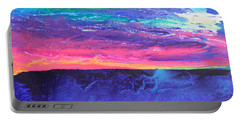 Maui Sunset Portable Battery Charger by Ralph White