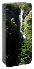 Maui Waterfall Portable Battery Charger by Fred Wilson