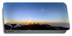 Mauna Kea Moonset 1 Portable Battery Charger