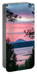 Portable Battery Charger featuring the photograph Mauve Magnificence by Jan Davies