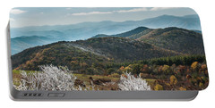 Portable Battery Charger featuring the photograph Max Patch In Appalachian Mountains by Debbie Green