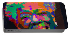Maya Angelou - Abstract Portable Battery Charger