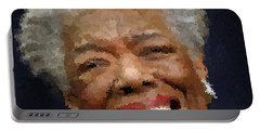 Maya Angelou Portrait Portable Battery Charger