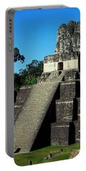Mayan Ruins - Tikal Guatemala Portable Battery Charger