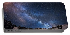Mayflower Gulch Milky Way Portable Battery Charger by Darren  White
