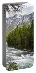 Mcdonald Creek In Glacier Np-mt Portable Battery Charger