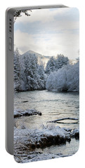Mckenzie River Portable Battery Charger by Belinda Greb