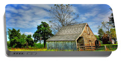 Mclean House Barn 1 Portable Battery Charger by Dan Stone