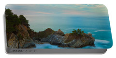Mcway Falls At Sunrise Portable Battery Charger