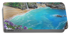Mcway Falls Portable Battery Charger by Jane Girardot