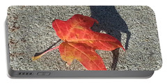 Portable Battery Charger featuring the photograph Me And My Shadow by Caryl J Bohn