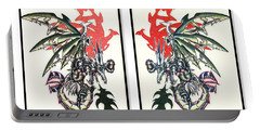 Mech Dragons Collide Portable Battery Charger
