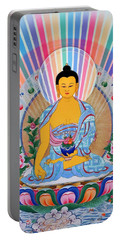 Medicine Buddha 1 Portable Battery Charger