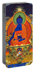Medicine Buddha Portable Battery Charger