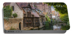 Medieval Bruges Portable Battery Charger by Juli Scalzi
