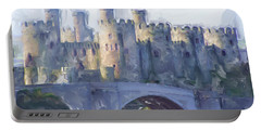 Medieval Conwy Castle.  Portable Battery Charger