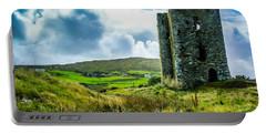 Medieval Dunmanus Castle On Ireland's Mizen Peninsula Portable Battery Charger