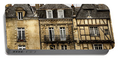 Medieval Houses In Vannes Portable Battery Charger