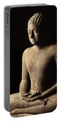 Meditating Buddha, Davaravati Period Portable Battery Charger