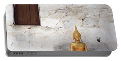 Meditation In Laos Portable Battery Charger