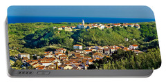 Mediterranean Town Of Susak Croatia Portable Battery Charger