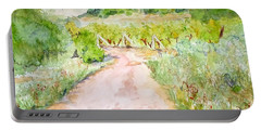 Medjugorje Path To Apparition Hill Portable Battery Charger