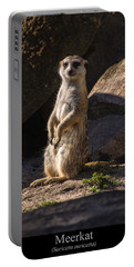 Meerkat Portable Battery Charger by Chris Flees