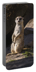 Meerkat Looking Forward Portable Battery Charger
