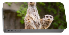 Meerkat Pair Portable Battery Charger by Jamie Pham