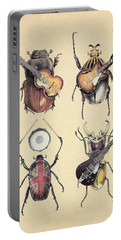 Meet The Beetles Portable Battery Charger