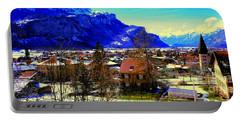 Meiringen Switzerland Alpine Village Portable Battery Charger